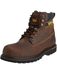 Caterpillar Holton SB Safety Boot Brown Size 8