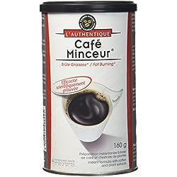 L'Authentique Café Minceur pour Perte de Poids Pot de 160 g