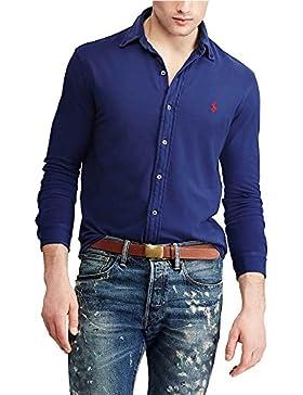 Polo Ralph Lauren camicia 710704247002 provincial blue