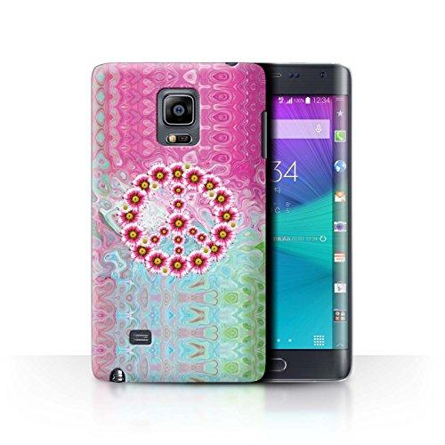 Stuff4® Hülle/Case für Samsung Galaxy Note Edge/N915/Krawatte Farbstoff Marmor Muster/Hippie Hipster Kunst Kollektion