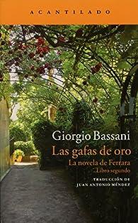 Las Gafas De Oro par Giorgio Bassani
