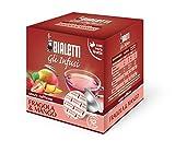 Bialetti Boîte de 12 Capsules Infusion Fraise Mangue 2,50 g par Capsule 330 g