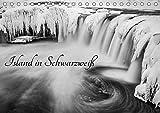 Island in Schwarzweiß (Tischkalender 2019 DIN A5 quer): Island in Schwarzweiß (Monatskalender, 14 Seiten ) (CALVENDO Orte)