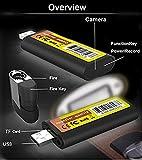 TenSky 1920x1080P HD Elektronisches Feuerzeug Spion Kamera mit Schleife Video Aufnahme Funktion Test