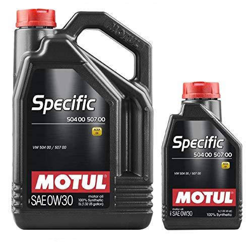 MOTUL Aceite Lubricante Specific 504.00-507.00 0w30