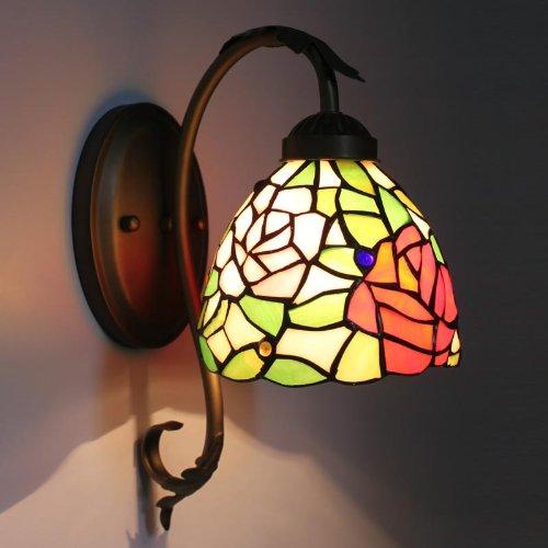 Uncle Sam LI - pastorale chaud chevet mur de la chambre miroir de la lampe couloir avant de la lampe lumières européennes corridor allée