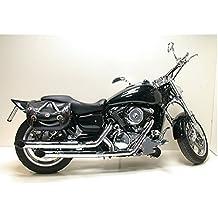 Trittbretter Sozius New Tech Glide schwarz Kawasaki VN 900 VN 1600 VN 1500 Suzuki VZ 1600 Marauder VN 1700 VN 2000