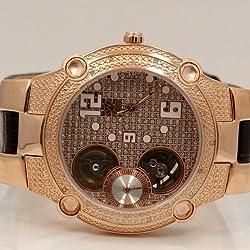 Aqua Master Mens Automatic Diamond Watch 0.20ctw W2123