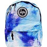 HYPE Rucksack für Mädchen, Jungen, Herren und Damen, für Schule, Fitnessstudio, Reisen, lässiger Gebrauch, wasserabweisend, 18 Liter Fassungsvermögen Gr. One Size, blau