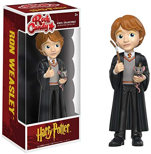 Harry Potter Figura de vinilo Ron, colección Rock Candy (Funko 14072)
