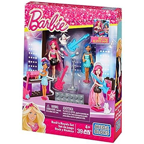 Mega Bloks Barbie Build 'N Play Rock N' Royals Set