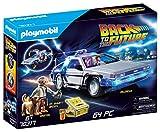 PLAYMOBIL- Back to The Future Vehículo de Juguete con Figuras, Multicolor (70317)