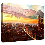 wall-art ARTWall Kunstdruck auf Leinwand Martina und Markus BLEICHNER 'München Nacht' 61Leinwand Kunstwerke, 24von 32