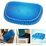 iMustbuy Pain Relief Seat Cushion Breathable Support Seat Absorbs Pressure Points for Tailbone & Back Pain Honeycomb Design Suitable for All