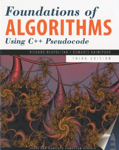 Foundations of Algorithms Using C++ P