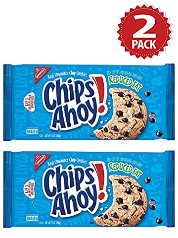 Cookies Chips Ahoy Reduced Fat Chocolate Chip - Set de 2 (2x369g)