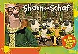 Shaun das Schaf 2017 - Broschürenkalender - Wandkalender - mit Schulferienterminen und Stundenplänen - Format 42 x 29 cm