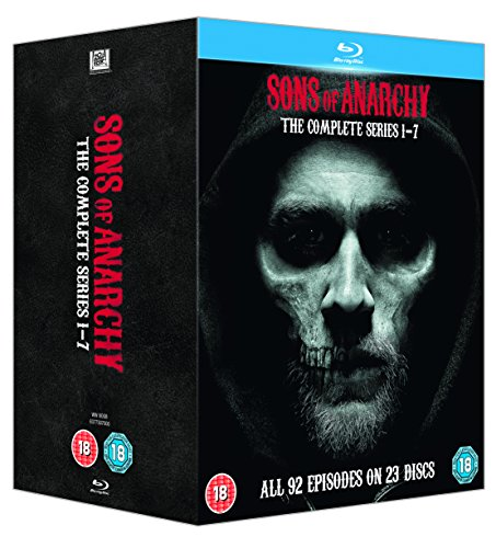 Sons Of Anarchy: Complete Seasons 1-7 [Edizione: Regno Unito]