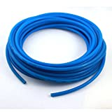 Sourcingmap a14091900ux0416 - Azul 5mmx8mm de poliuretano de la manguera del tubo de la pu de aire neumático 15m de longitud / 50 ft