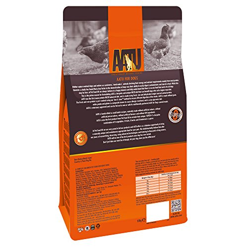 AATU 80/20 Dog Food Chicken 10 Kg