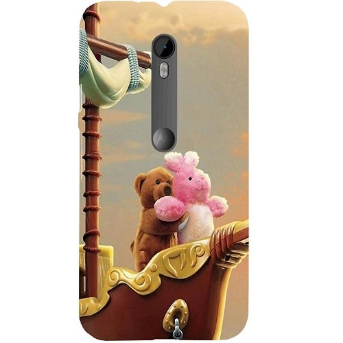 Casotec Funny Titanic Design Hard Back Case Cover for Motorola Moto G 3rd Generation