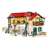 Schleich 4247- Bauernhaus mit Stall und Tieren, Large