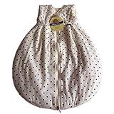 Alvi Mäxchen Schlafsack Thermo, Größe:130 Dots weiß