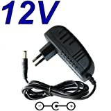 CARGADOR ESP - Adaptateur Secteur Alimentation Chargeur 12V pour Remplacement Disque Dur Externe IOMEGA MDHD320-U P/N 31641400 R puissance du câble d'alimentation
