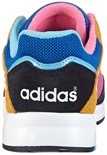 adidas Tech Super, Baskets mode femme Multicolore (Satellite/Running White Ftw/Collegiate Gold)