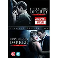 Fifty Shades Darker + Fifty Shades of Grey DVD Double Pack