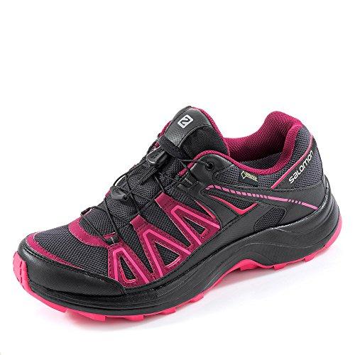 Salomon XA Centor GTX Trailrunning Shoes Women asphalt/black/hot pink Größe 38 2/3 2016 Laufschuhe