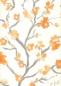 & Graham Brown papier peint en tissu non-tissé «Ushi collection High 2256–30 Flow multicolore