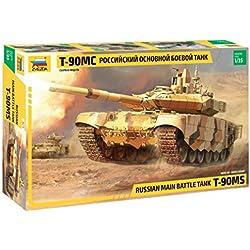 Zvezda 3675 500783675-1:35 - Maqueta de Tanque de Batalla Rusa (construcción de maquetas, construcción de Modelos, aficiones, Manualidades, Kit de construcción de plástico, sin lacar)