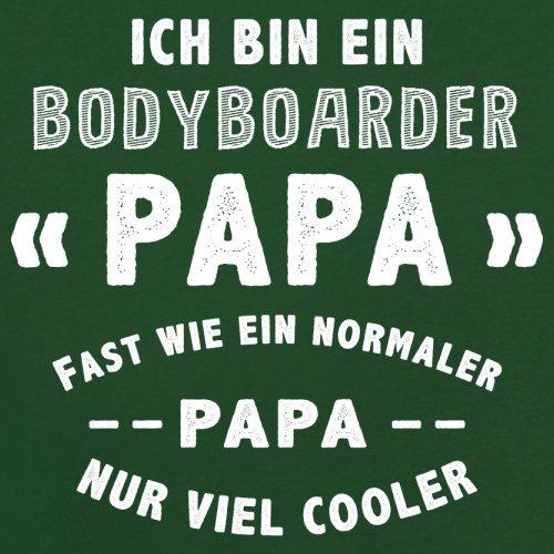 Ich bin ein Bodyboarder Papa - Herren T-Shirt - 13 Farben Flaschengrün