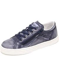 3610I sneakers bimbo blu HOGAN REBEL r 141 zip bassa 7 win scarpe shoes kids eaed9ab14ca