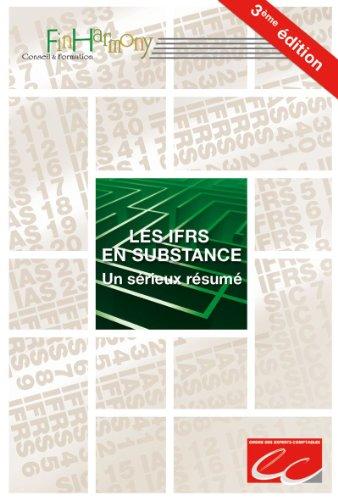 Les IFRS en substance. Un sérieux résumé par FinHarmony