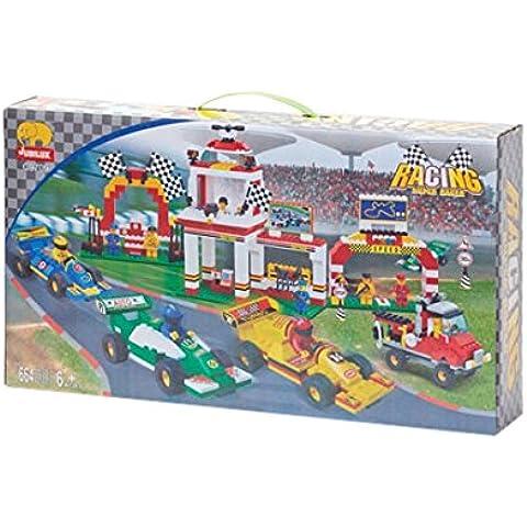 Fórmula 1 Edificio de ladrillo Set