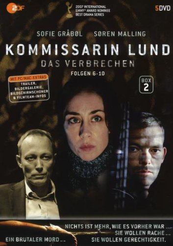 Kommissarin Lund - Das Verbrechen, Box 2, Folgen 6-10 [5 DVDs]