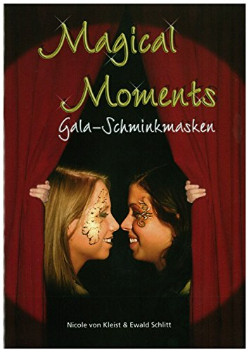 Eulenspiegel 999639 - Schminkbuch Gala Schminkmasken, Magical (Für Erwachsene Maske Gala)