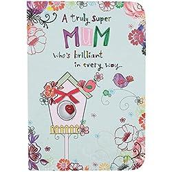 Hallmark Geburtstagskarte Mum Seite, drei Einsatz, Medium
