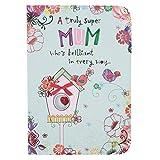 Hallmark Birthday Card for Mum, Brilliant in Every Way - Medium
