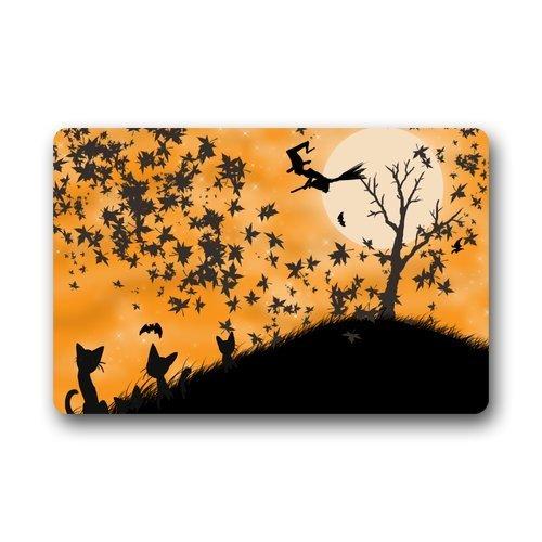 at Fashion Decor Rug Custom Happy Halloween Gate Pad 23.6(L) Inch x 15.7(W) Inch ()