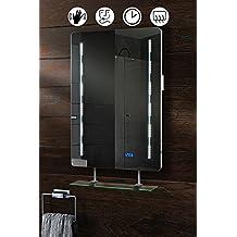 suchergebnis auf f r led spiegel mit uhr. Black Bedroom Furniture Sets. Home Design Ideas