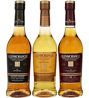 Glenmorangie Whisky 'Explorer' Trio Gift Pack (3 x 35cl Bottles)