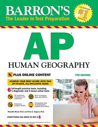 Barron's AP Human Geography With Bonus Online Tests (English Edition)