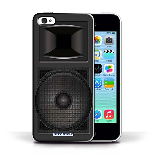 Kobalt® Imprimé Etui / Coque pour Apple iPhone 5C / Moniteur Studio conception / Série Haut-Parleur dessin Moniteur Studio