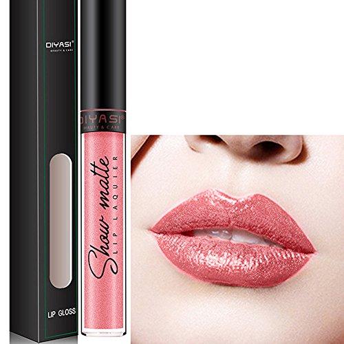 Liquide Rouge à lèvres,Lèvres hydratant à lèvres diamant longue durée brillant Lonshell (13#)
