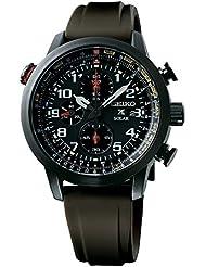 Seiko Herren-Armbanduhr Prospex Chronograph Quarz Silikon SSC353P1