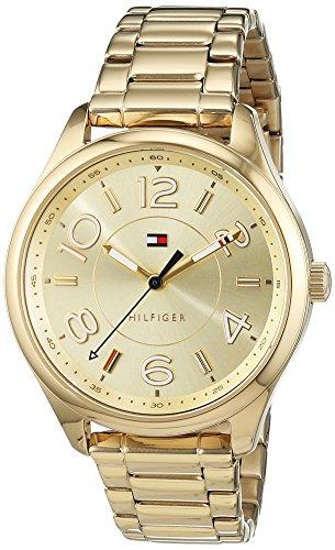 Tommy Hilfiger Reloj Mujer de Analogico con Correa en Chapado en Acero Inoxidable 1781673