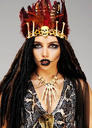 eder Kopfschmuck Stirnband (Voodoo-hexe Kostüm)
